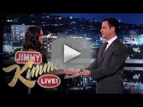 Andi dorfman on jimmy kimmel live sworn in