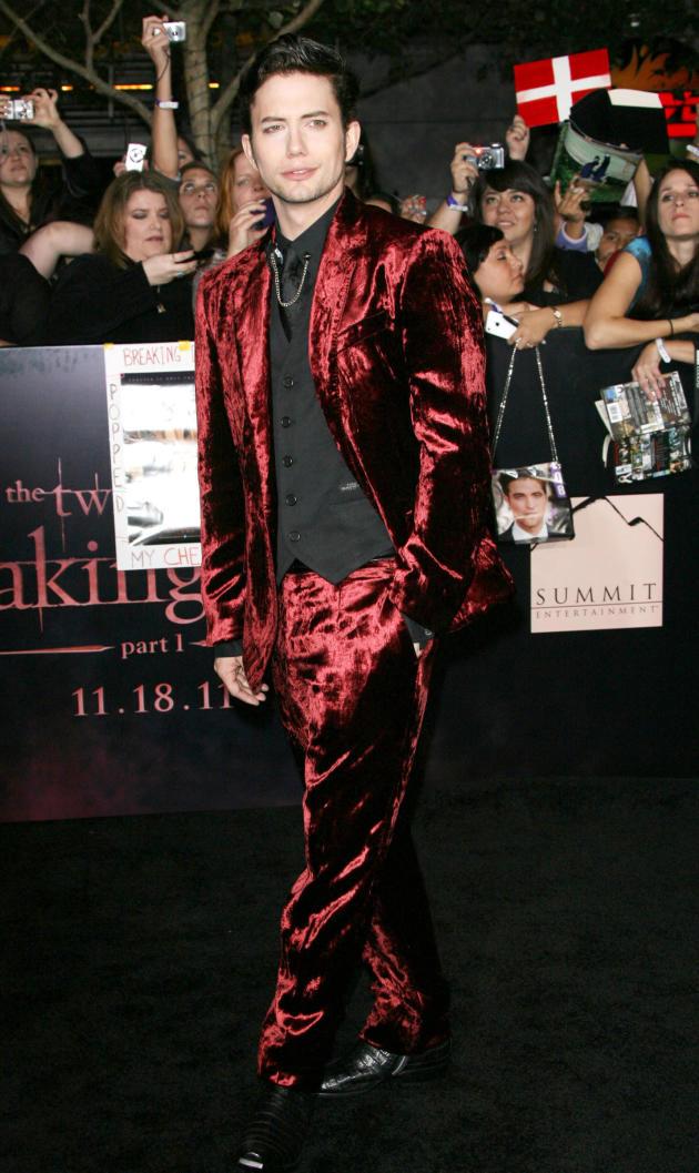 Jackson Rathbone at Breaking Dawn Premiere