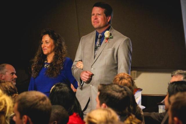 Michelle and jim bob at jessas wedding