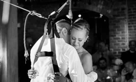 Paralyzed Groom Dances with Bride