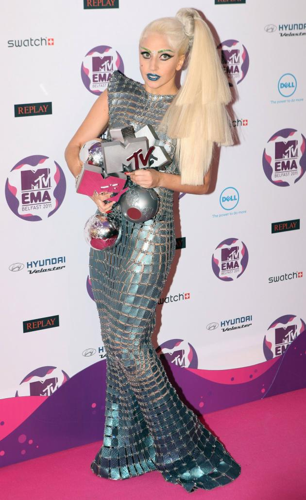Lady Gaga at MTV Europe Music Awards