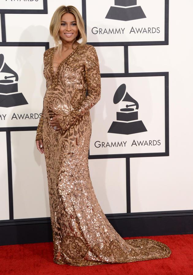 Ciara: Baby Bumpin at the Grammys!