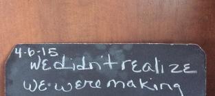 LeAnn Rimes Chalk Talk