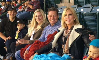 Vicki Gunvalson Brags About Boyfriend Steve Lodge ALL Over Instagram