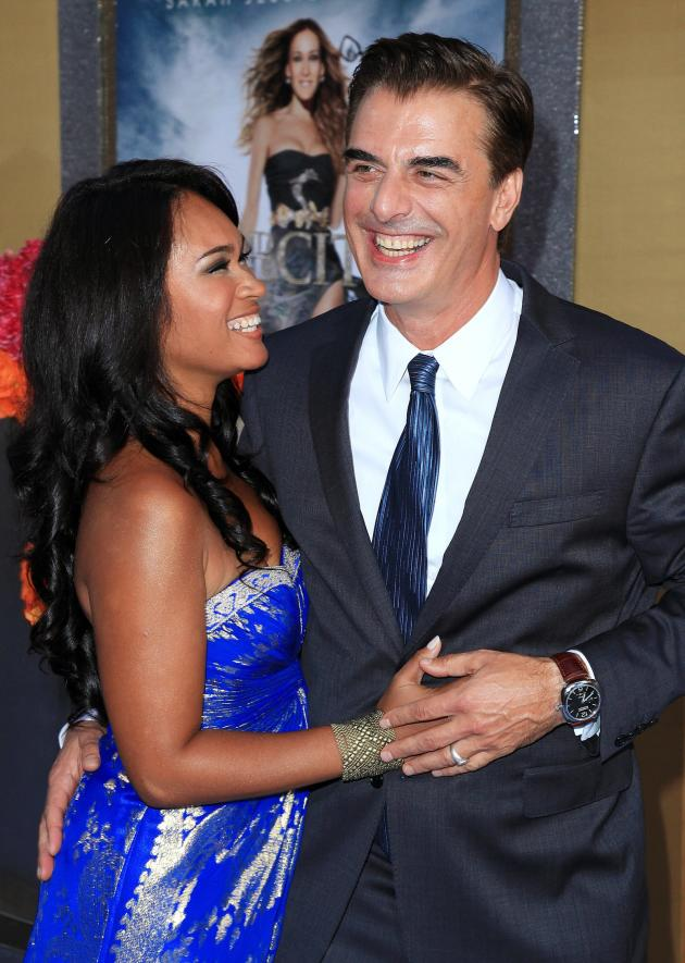 Chris Noth and Tara Wilson Photo