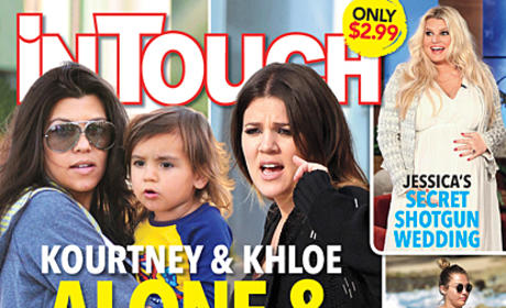 Khloe and Kourtney Kardashian: Abandoned By Their Men?