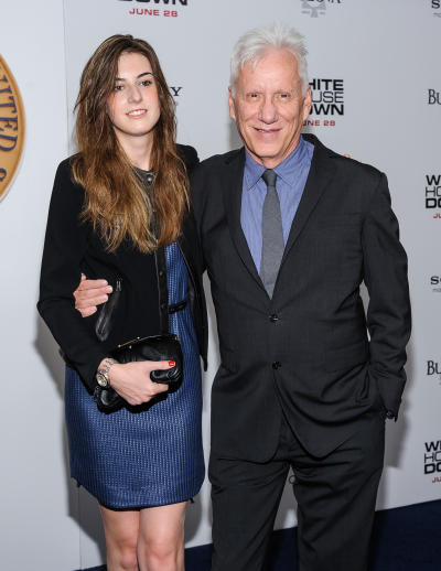Kristen Bauguess and James Woods
