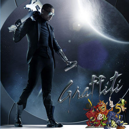 Chris Brown Graffiti Cover