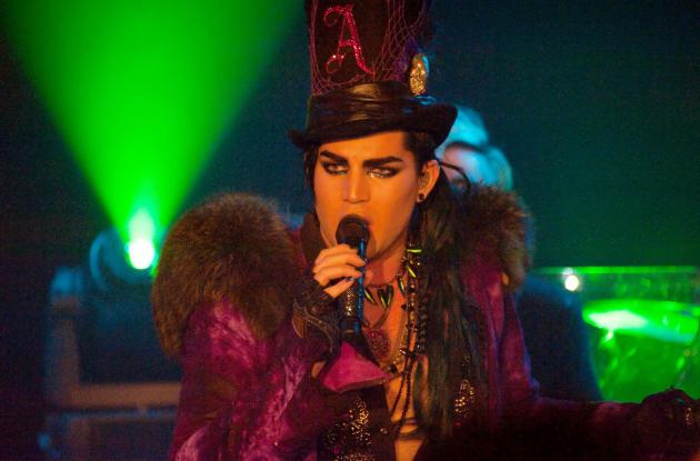 Performing in Paris, France