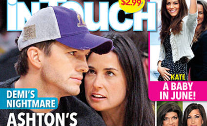 "Ashton Kutcher Addresses Media on ""State of Truth,"" Doesn't Wear Wedding Ring"
