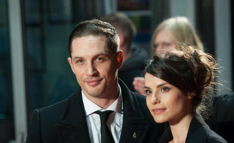 Tom Hardy and Charlotte Riley Photo