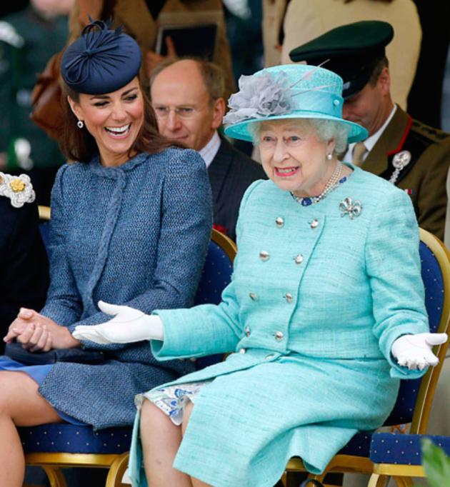 Kate Middleton, Queen Elizabeth Too