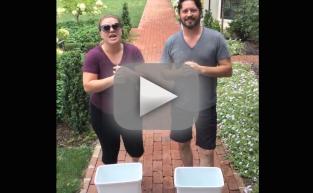 Kelly Clarkson Accepts Ice Bucket Challenge