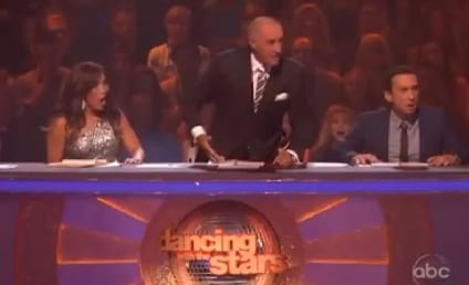 Dancing With the Stars Recap: Len Goodman Loses His Mind