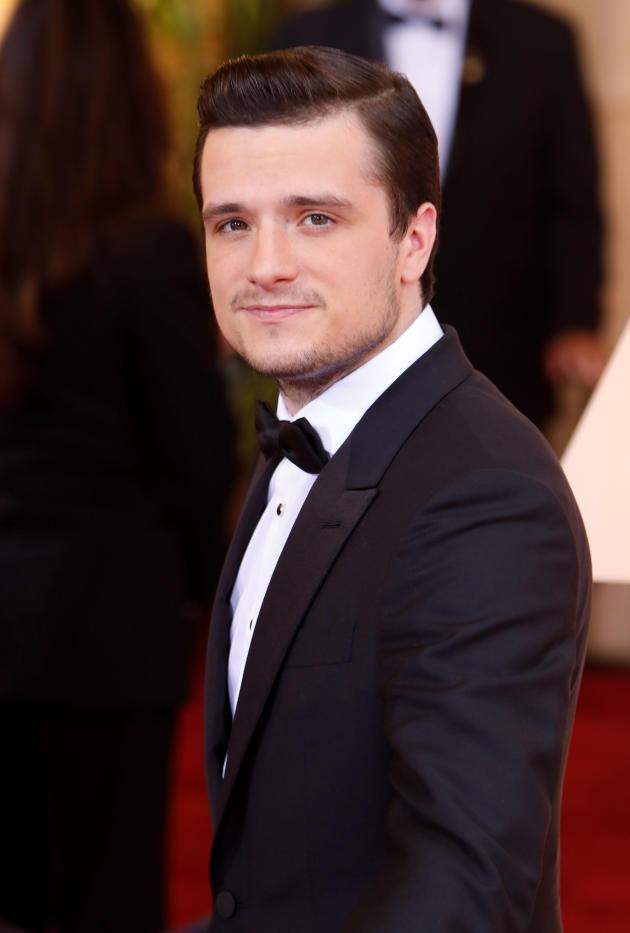 Josh Hutcherson at the 2015 Oscars - The Hollywood Gossip