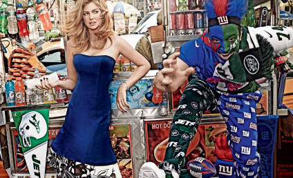 Kate Upton Vogue Photos: Super Bowl Prep With Jimmy Fallon?