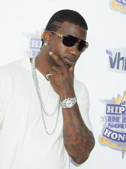 gucci mane tattoos face with ice cream cone the