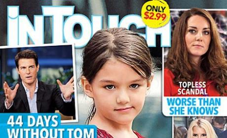 Suri Cruise ABANDONED by Tom, Magazine Claims