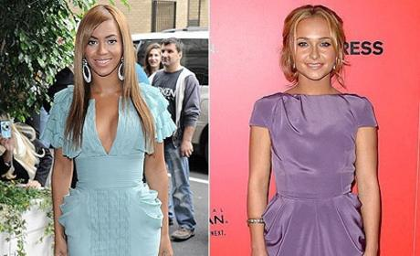 Who looks better, Beyonce or Hayden?