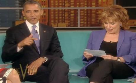 President Obama on The View: A Discussion of the Economy, Gay Marriage and Kim Kardashian