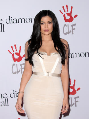 Kylie Jenner at the Diamond Ball