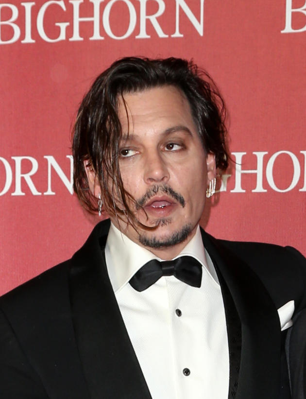 Johnny Depp: Drunk and Disoriented at Film Fest Appearance ... Johnny Depp Broke