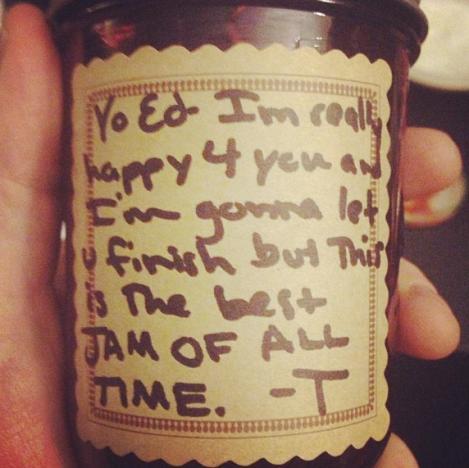 Taylor Swift Instagram Joke
