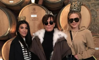 "Kris Jenner Gets Drunk, Calls French Montana a ""Motherf--ker"""