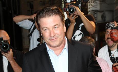 Alec Baldwin on the Red Carpet