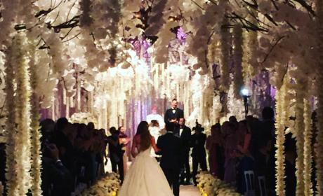 Sofia Vergara and Joe Manganiello Wedding Pic