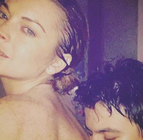 Lindsay Lohan: Naked With Some Dude