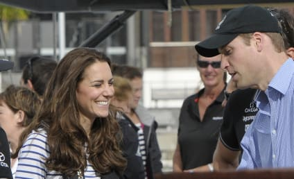 Kate Middleton Beats Prince William in Race Around Auckland Harbor
