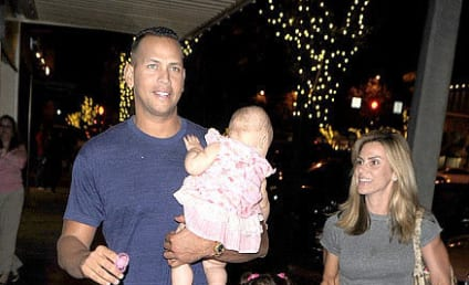 Spotted: Alex Rodriguez and... Cynthia Rodriguez! And Kids!