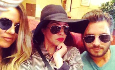 Kourtney Kardashian: Jealous of Khloe Kardashian and Scott Disick?