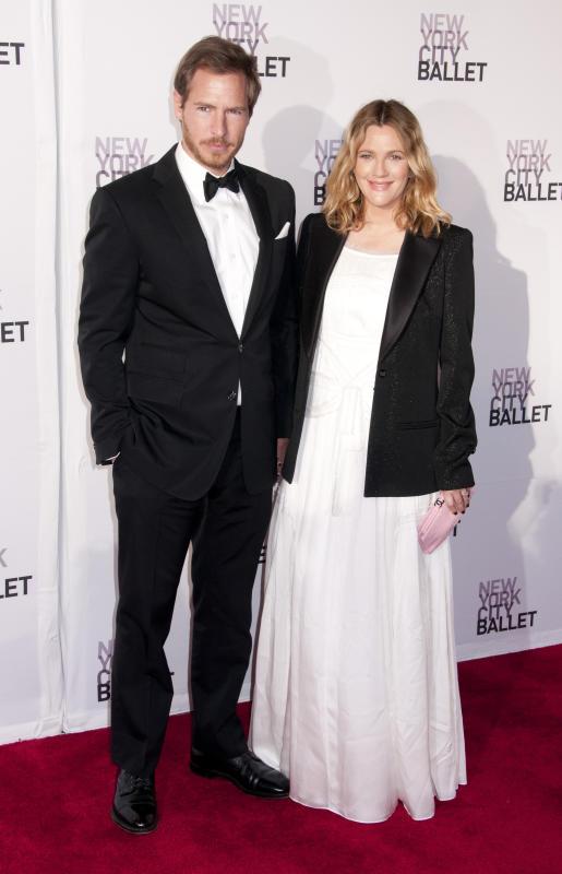 Drew Barrymore and Wade Kopelman