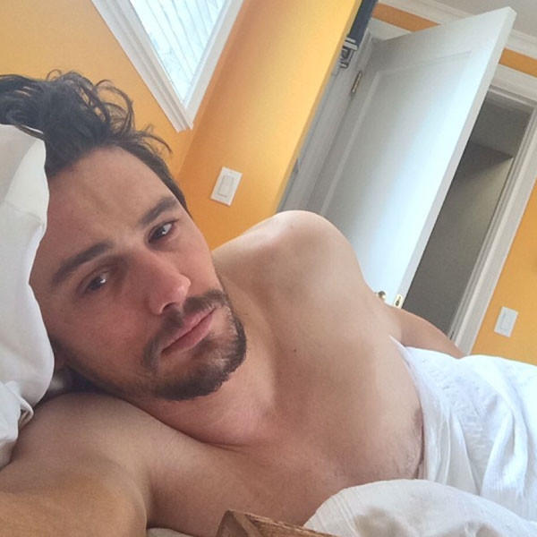 Sexy James Franco Selfie