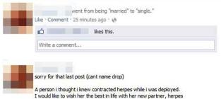 13 Most Awkward Facebook Breakups
