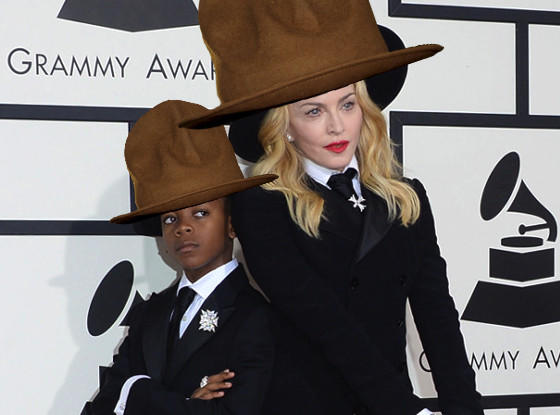 Madonna in Pharrell's Hat