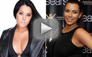 Myla Sinanaj Wants to Be Like Kim Kardashian