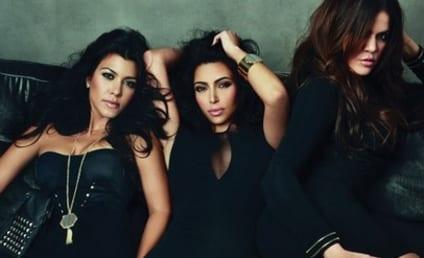 Kim Kardashian Poses for J Magazine