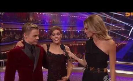 Amy Purdy Returns to Dancing with the Stars, Earns Perfect Score After Hospitalization