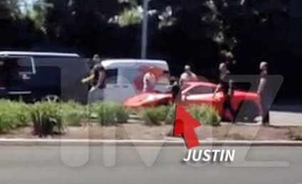 Justin Bieber Rear-Ended by Paparazzi, References Princess Diana Death on Twitter