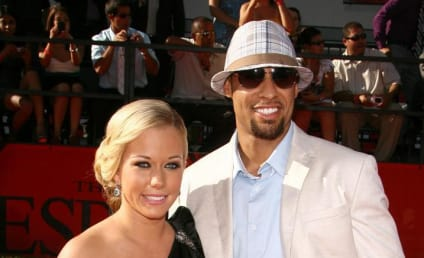 Hank Baskett: Chilling With Kendra Wilkinson at Family Barbecue!