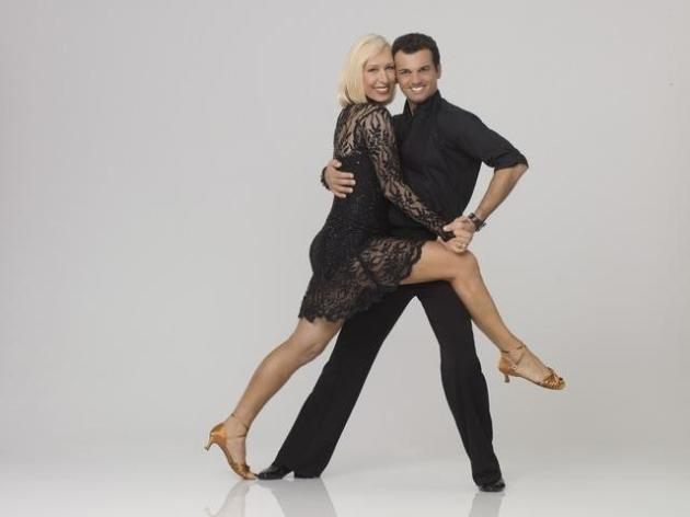 Martina Navratilova and Tony Dovolani