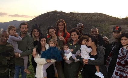 "Kardashians and Jenners Celebrate Thanksgiving as One, Giant ""Blended Family"""