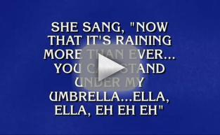 Alex Trebek Sings Rihanna: See For Yourself!