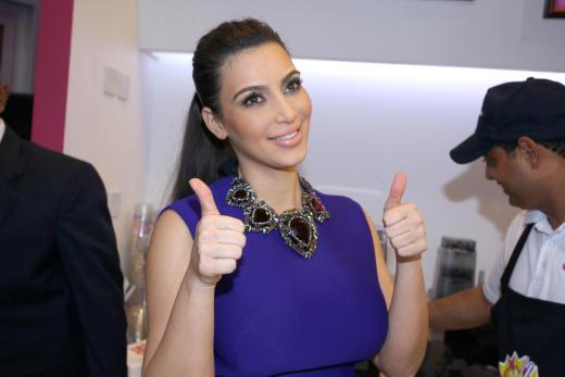 Thumbs Up, Kim Kardashian