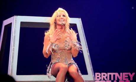 Britney Spears Going Down. Under.
