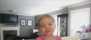 Two-Year-Old Makena Sings Adele