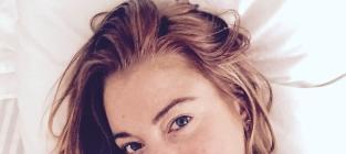 Lindsay Lohan: Nude, No Makeup